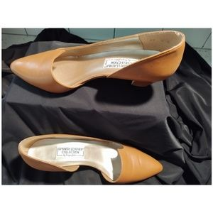 SERGIO ZELCER LEATHER HEELS PUMPS SHOES SIZE 9M